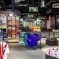 Kick off for Southampton Football Club's new store - Retail Design World