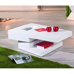 Independent rotating white gloss coffee table - 19059 buy online modern high gloss coffee tables with storage at furniture in fashion, available in. Unusual Coffee Tables, Coffee Tables Uk, Stylish Coffee Table, Coffee Table With Storage, Coffee Coffee, Living Room Furniture Sale, Contemporary Living Room Furniture, Contemporary Coffee Table, White Gloss Coffee Table