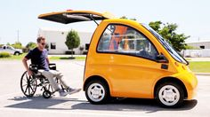 Kenguru EV Electric Car- An Ideal Transportation Solution for Wheelchair Drivers
