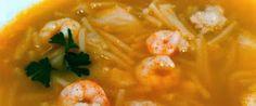 recetasricasysalud: Receta Sopa de Merluza y Papas