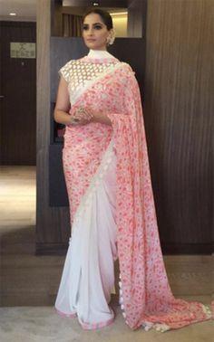Sonam Kapoor In Head-To-Toe Pink Pastels Is Something To See! - MissMalini