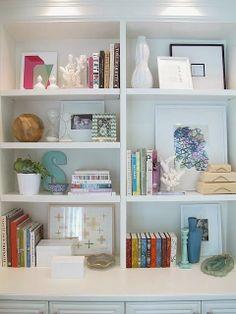 Bookshelf decoration ideas