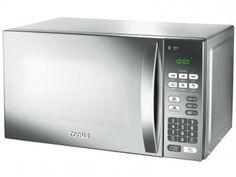Micro-ondas Consul CM020 20L 6 Receitas Pré-Progr. - 10 Níveis de Potência e Trava de Segurança