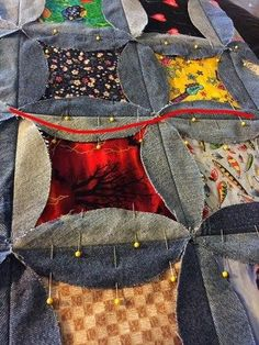 Simple Rag Quilt Pattern