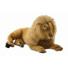 The Hansa Lying Position Large Male Lion Plush Stuffed Animal is a realistic reproduction of this beautiful safari animal. This Hansa plush stuffed animal price includes ground shipping. King Charles Spaniel, Cavalier King Charles, Giant Stuffed Animals, Male Lion, Ride On Toys, Animal Nursery, Plush Animals, Lions, Plushies