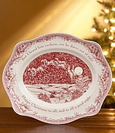 A lovely Christmas table setting featuring these beautiful Currier and Ives china dishes | So this is Christmas | Pinterest | Dishes China and Shabby & A lovely Christmas table setting featuring these beautiful Currier ...