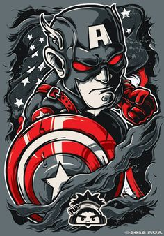 Avengers Illustrations by Ruel Jun Andaya ... | HeroChan #avengers