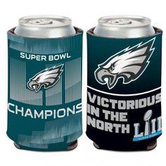 Philadelphia Eagles Can Cooler Slogan Design Super Bowl 52 Champs Special Order