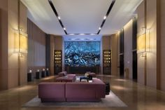 View deals for The East Hotel Hangzhou. Luxury-minded guests enjoy the breakfast. WiFi and parking are free, and this hotel also features a restaurant. Public Hotel, Hotel Staff, Lobby Lounge, Hotel Lobby, Luxury Bedroom Design, Interior Design, Japan Apartment, Lobby Interior, Property Design