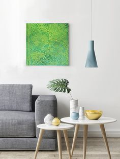 abstract painting acrylic and lace  orbicular  australian