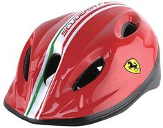 Kids' Bike Helmets - Ferrari JuvenileKids BikeSkating MultiSport Helmet -- Find out more about the great product at the image link.