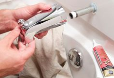 What Would Bob Do? Replacing faulty faucets.