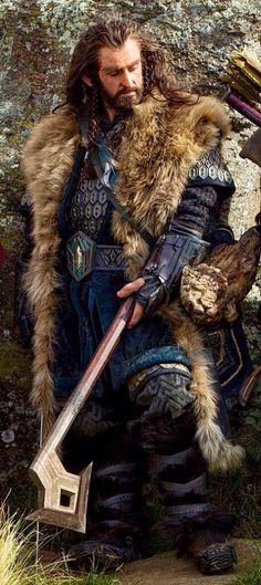Thorin with axe
