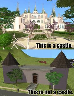 Sims humor.