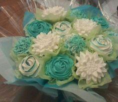 my aqua birthday order fb/me@flourflorist16
