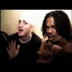 Xzibit Feat. Eminem - Don't Approach Me ~ This video is cool.  It's awesome to see Eminem & Xzibit just chillin there.