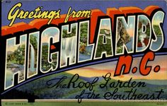 Greetings From Highlands
