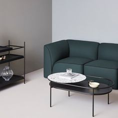 Shop Flora Modular Sofa - Corner by WOUD. Streamlines the process of furniture and product procurement, delivery and installation for architects and interior designers Metal Furniture, Table Furniture, Furniture Design, Scandinavian Living, Scandinavian Design, Danish Design, Modern Design, Journal Du Design, Modular Sofa