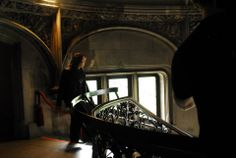 Caleb Johnson of @American Idol overlooking the grand staircase of #Biltmore House in #Asheville, #NC during his return visit on May 10, 2014.
