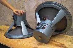 Atelier Rullit - LAB 16 - wide range field coil speakers.