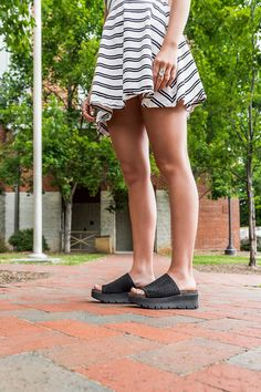 8ad279b8cbac OTBT s Gravity in Black Wedge Sandals