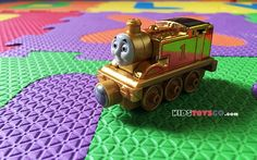 Take N Play Gold Thomas - small but so cool locomotive.