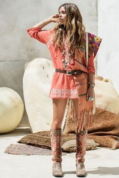 Spell Designs   Santorini Embroidered Blouse   SHOP >> http://www.whitebohemian.com.au/collections/shop-fashion/products/spell-designs-santorini-embroidered-tunic-burnt-orange  #spelldesigns #tunicdress #bohofashion