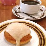露草社 - 料理写真:レモンケーキとブレンドコーヒー