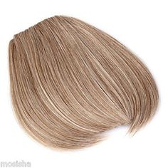 Lady's Clip On Clip In Front Bangs Fringe With Side Cosplay Hair Extension