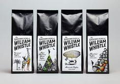 The Adventurous Blends of William Whistle (thé et café)   Design : Horse…