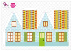 #Paper #Toy #House par Solange ABAZIOU pour Le Quai Angers - Paper House – Maison de papier – Modèle 1 - http://soyou.fr/