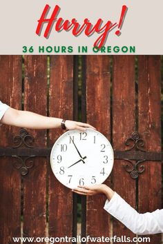 If you only have 36 hours to see Oregon, hurry! Print this article and hit the road now! Country Hotel, Country Maps, Oregon City, Oregon Coast, Oregon Trail Game Online, Oregon Wine Country, Oregon Waterfalls, History For Kids, Willamette Valley