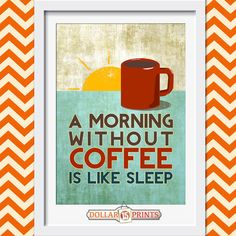 No Talkie Before Coffee Quote Wall Art Print by 15DollarPrints, $5.00