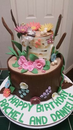 Amy's Crazy Cakes - Tree Earth Day Cake