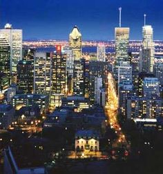 Montreal Canada to trace the footsteps of my grandfather, who, according to my grandmother, was a divine dancer...