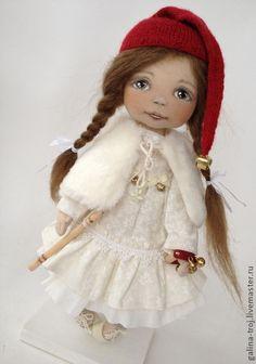 Коллекционные куклы ручной работы. Ярмарка Мастеров - ручная работа Гномочка-веселушка (музыкант). Handmade.