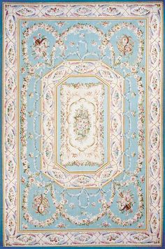 Chartres B Aubusson Rug