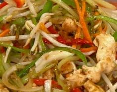 Rápido y fácil chop suey oriental Chinese Food, Yummy Food, Yummy Recipes, Chips, Meat, Chicken, Cooking Ideas, Chinese Cuisine, Sweet And Saltines