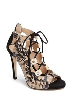 Topshop 'Gala' Lace-Up Bootie