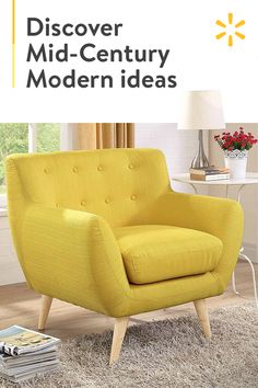 Oversized Chair And Ottoman Product Living Room Yellow Accents, Living Room Colors, My Living Room, Living Room Furniture, Home Furniture, Living Room Decor, Furniture Design, Bedroom Decor, Coaster Furniture