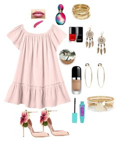 """""""My Obsession"""" by davisaudrey on Polyvore featuring Rebecca Taylor, Brian Atwood, Marc Jacobs, TheBalm, Urban Decay, Missoni, ABS by Allen Schwartz, Boohoo, Bebe and River Island"""