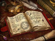 Ashes: Spellbook by fdasuarez.deviantart.com on @DeviantArt