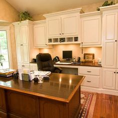 lighting home office built in