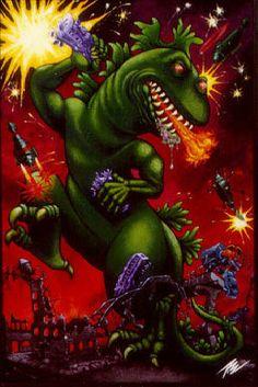 Godzilla - pizz