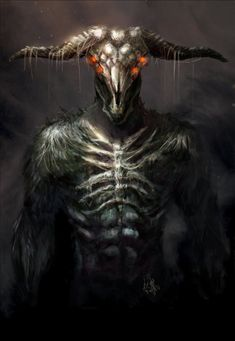 Capra Demon by Enigmasystem.deviantart.com on @deviantART