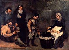 Antonio de Puga, primera mitad del XVII, Sopa de pobres