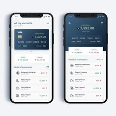 Perfect color here with a mix of gray and dark blue, really did a great job here, don't you think?Tag in your UI designs or use if you want us to feature your work! Game Design, App Ui Design, Interface Design, Interface App, Android Design, Dashboard Mobile, Mobile App Ui, Application Mobile, Application Design
