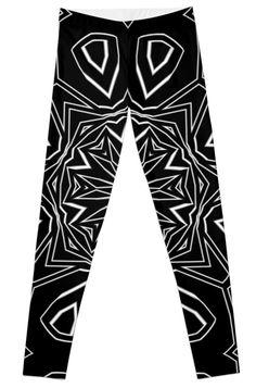 Leggings by dahleea Artwork Prints, Knitted Fabric, 2d, Leggings, Knitting, Stuff To Buy, Fashion, Moda, Tricot