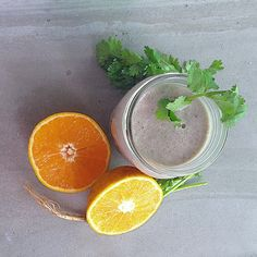 Cilantro Blueberry Creamsicle Smoothie — So Fresh Mag
