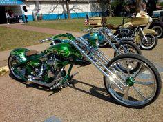 Custom Baggers, Custom Motorcycles, Chopper Motorcycle, Big Wheel, Bike Art, Street Bikes, Old School, Cars, Vehicles